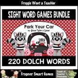 Valentine's Day--Park Your Car Sight Word Games Bundle 220
