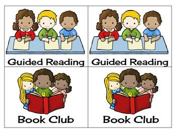 Literacy Center Rotations