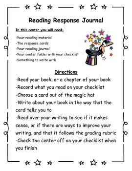 Literacy Center Signs (Directions for guided reading indep