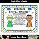 Literacy Center--Super Readers I Have... Who Has? First 10