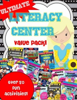 Literacy Center BUNDLE