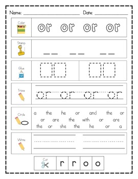 Literacy Center Word Work BUNDLE: 100 Printables AND 100 M