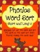 Literacy Centers 2-2 (Short/Long u Phonics, Singular/Plura