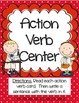 Literacy Centers 3-1 (Long a Phonics, Action Verbs, Abbrev