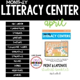 Literacy Centers- APRIL