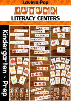 Autumn / Fall Literacy Centers