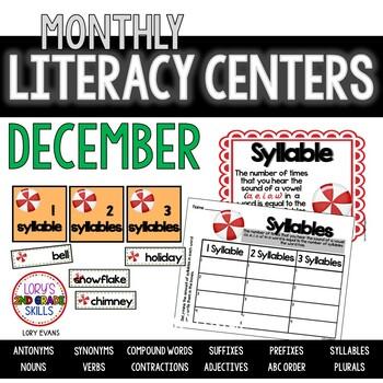 Literacy Centers- DECEMBER