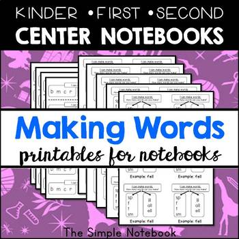 Literacy Centers: Making Words