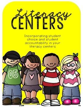 Literacy Centers Tic-Tac-Toe