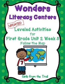Literacy Centers for Wonders First Grade Unit 2 Week 5