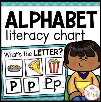 Literacy Circle Time Chart {Alphabet}