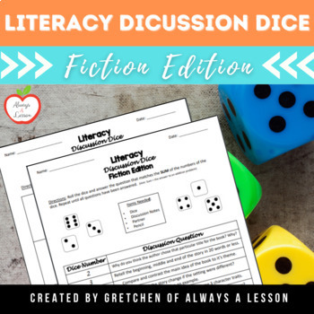 Literacy Discussion Dice
