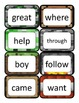 Literacy First - Word Cards List B - Minecraft Themed