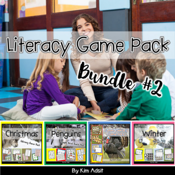 Literacy Game Pack Bundle #2 by Kim Adsit
