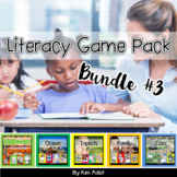 Literacy Game Pack Bundle #3 by Kim Adsit
