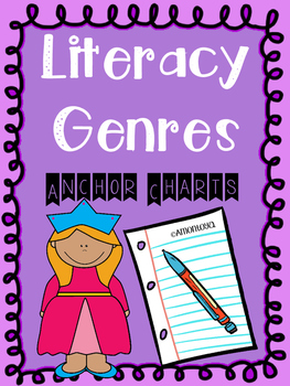 Literacy Genres Charts