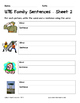 Literacy Interactive Notebook Pages - UTE Word Family