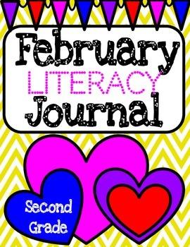 February Literacy Printables