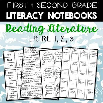 Literacy Journals: RL.1,2,3 (Parts of a Story) Printables