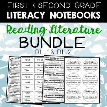 Literacy Journals: Reading Literature Bundle for 1st and 2
