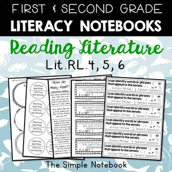Literacy Journals: Reading Literature RL.4,5,6