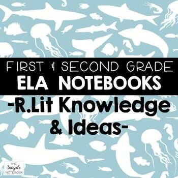 Literacy Journals: Reading Literature RL.7,8,9,10