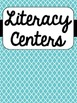 Literacy & Math Centers Binder Covers {Freebie}