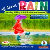 Literacy & Math SPRING Activities - Rain, Flowers & Ladybu