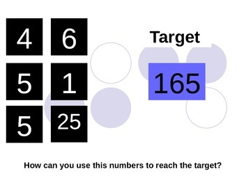 Literacy & Numeracy Game: Letters and Numbers