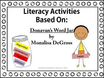 Literacy Packet - Based on Donavan's Word Jar