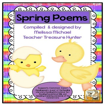 Literacy Posters * Spring Poetry Collection for Early Read