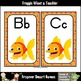 Literacy Resource--Fancy Fish Word Wall Headers (small/2 p