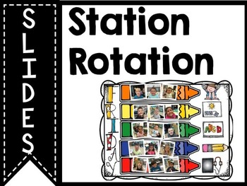 Literacy Station Rotation Slides