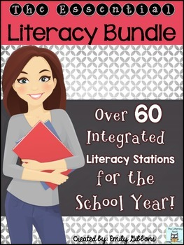 Literacy Centers Year Long Centers for Elementary Grades M