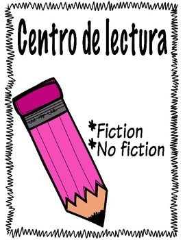 Literacy Stations in Spanish for Fiction and Non-Fiction Books