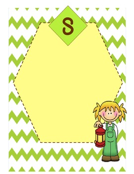 Literacy Stations with Camping theme