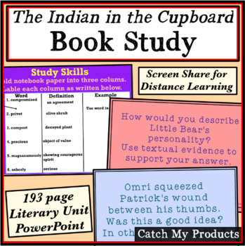 Literacy Unit for The Indian in the Cupboard (Power Point)