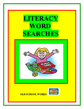 Literacy Word Searches Using Alpha Boxes
