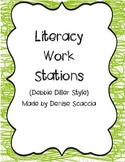 Literacy Work Stations Debbie Diller Style