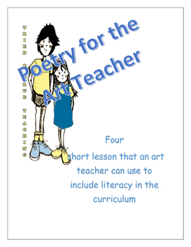 Four Poetry Activities for the Art and Classroom Teacher