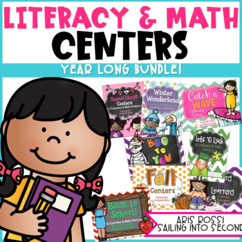 16 Literacy and Math Centers