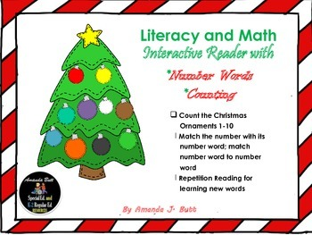 FREE! Literacy & Math Christmas Activities: Counting; Numb