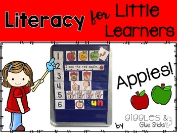 Literacy for Little Learners: Apples!