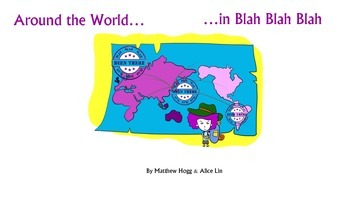 Literacy, sight words, high-frequency words with Around the World