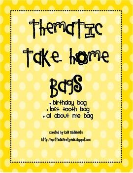 LiteracyTake-Home Bags: All Year Bags