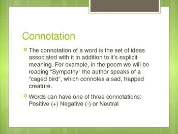 Literary Analysis: Diction Unit