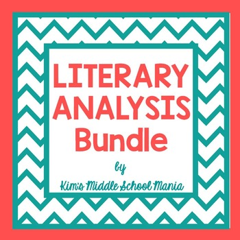 Literary Analysis Essay Bundle
