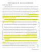 Literary Analysis Essay Ratiocination Activity with Sample Essays