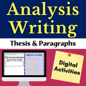 Close Reading Textual Analysis: Literary Analysis Digital