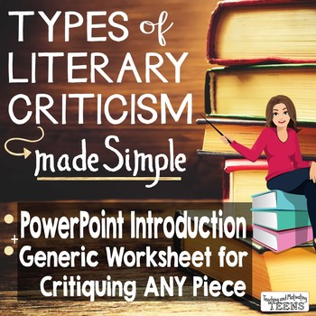 Literary Criticism - Literature Review How-to Lesson & Wor